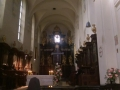 Po wsobnych Nieszporach z Benedyktynami w Opactwie Tynieckim