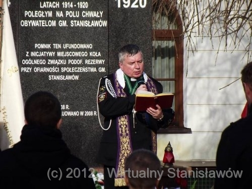Pomocniczy kapelan powiatomy ks. Wojciech Wojno